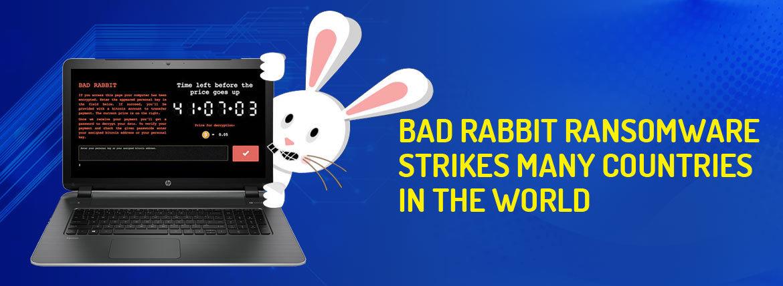 bad rabbit ransomware attack
