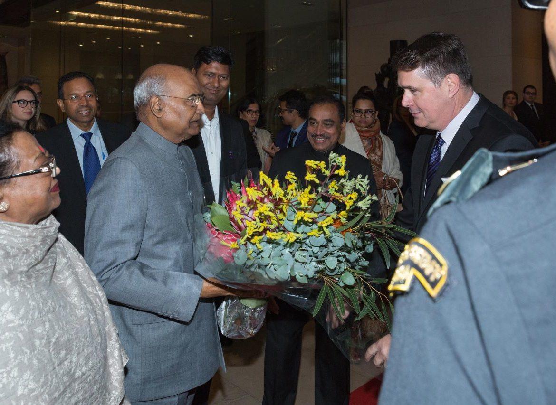 Indian President Shri Ram Nath Kovind's visit to Australia