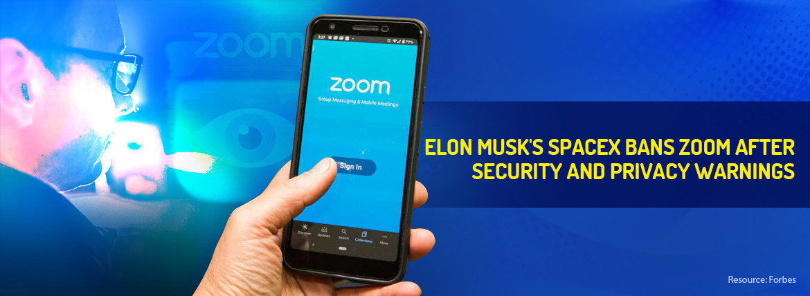 spacex bans zoom