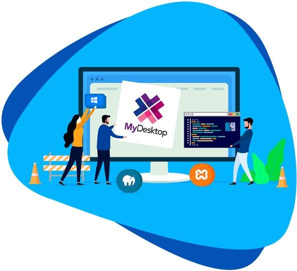 MyDesktop WordPress Import